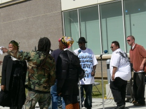 Rappin 4Tay performing at CCSF Juneteenth 2009